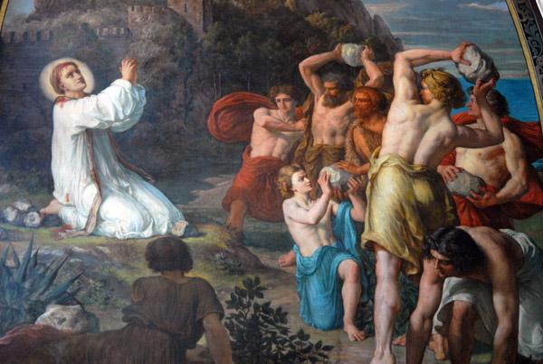 Stoning of St. Stephen, Saint-'Etienne-du-Mont